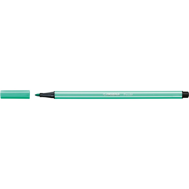 Pen, 68, Bullet Tip Ice Green, 1 Mm, Single