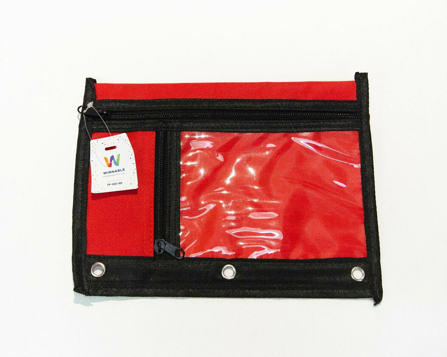 Pencil Case Soft 3-Ring 2 Compartments