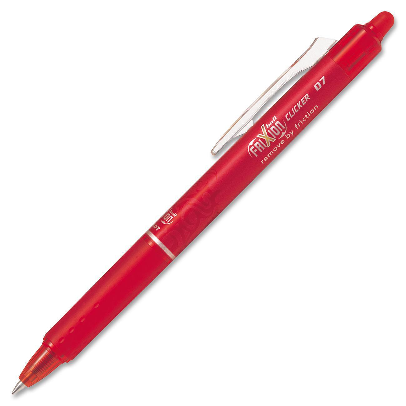 Pen, Erasable,Retractable, Gel, FriXion Red, Single, 0.7 Mm,  Refillable