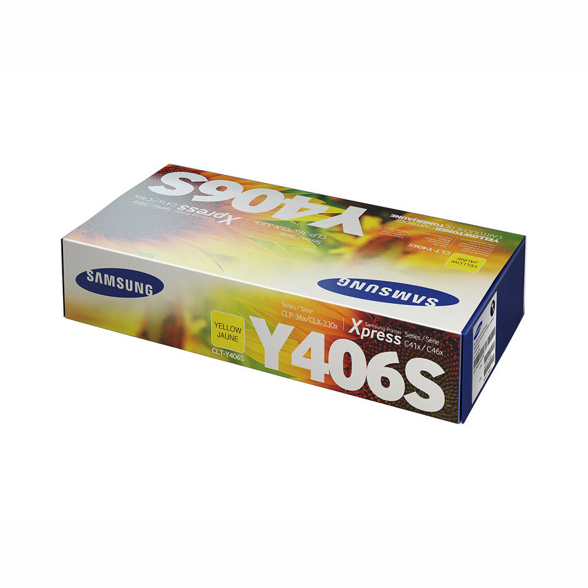 Samsung Toner Clt-Y406S Yellow Yellow