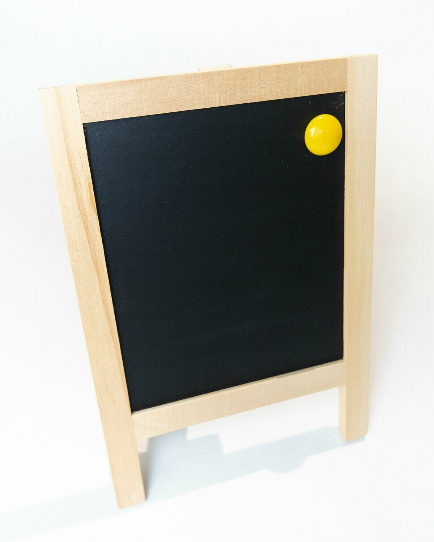 "Chalkboard 8.5 X 6"" Kickstand Countertop Magnetic"