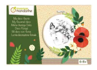 Art Kit, Flowered Decoration