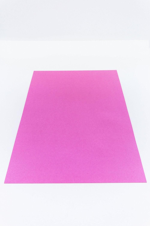 Cardstock, Maya, 54Lb Intensive Pink, A4, Single