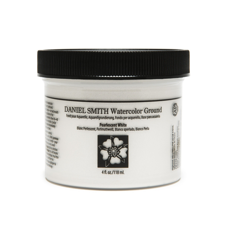 Ground Watercolour Pearlescent White 4oz/118ml Daniel Smith