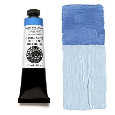 Paint Oil Cerulean Blue Chromium, 37ml/1.25oz Daniel Smith Series 3