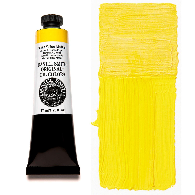Paint Oil Hansa Yellow Medium, 37ml/1.25oz Daniel Smith Series 2