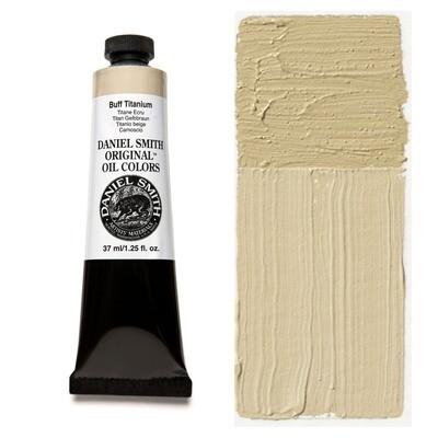 Paint Oil Buff Titanium, 37ml/1.25oz Daniel Smith Series 1