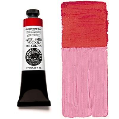 Paint Oil Quinacridone Coral, 37ml/1.25oz Daniel Smith Series 5