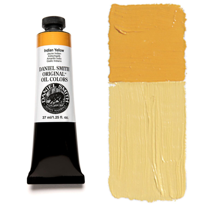 Paint Oil Indian Yellow, 37ml/1.25oz Daniel Smith Series 3