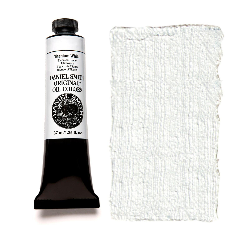 Paint Oil Titanium White, 37ml/1.25oz Daniel Smith Series 1
