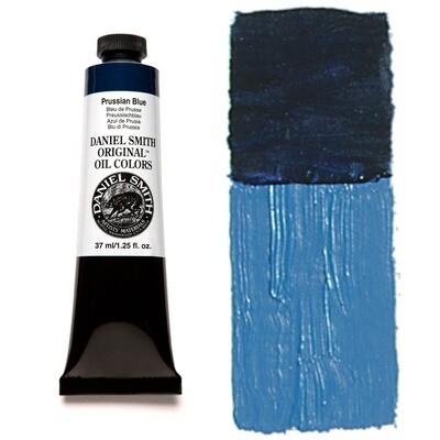 Paint Oil Prussian Blue, 37ml/1.25oz Daniel Smith Series 2