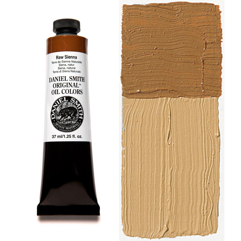 Paint Oil Raw Sienna, 37ml/1.25oz Daniel Smith Series 1