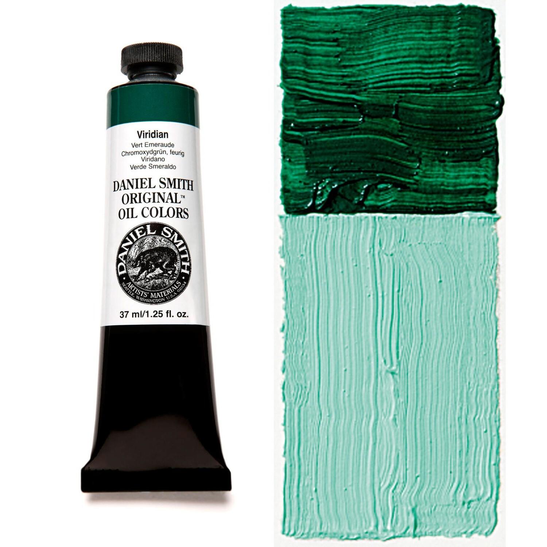 Paint Oil Viridian, 37ml/1.25oz Daniel Smith Series 4