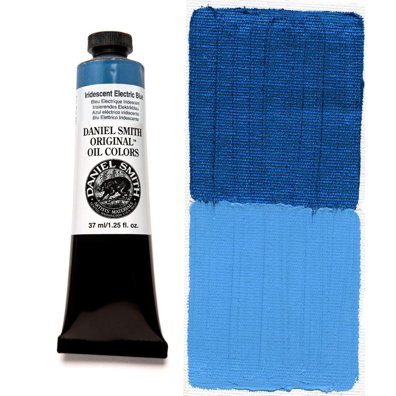 Paint Oil Iridescent Electric Blue, 37ml/1.25oz Daniel Smith Series 3