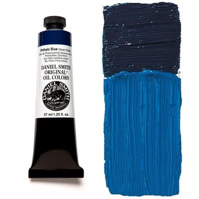 Paint Oil Phthalo Blue (Green Shade), 37ml/1.25oz Daniel Smith Series 3