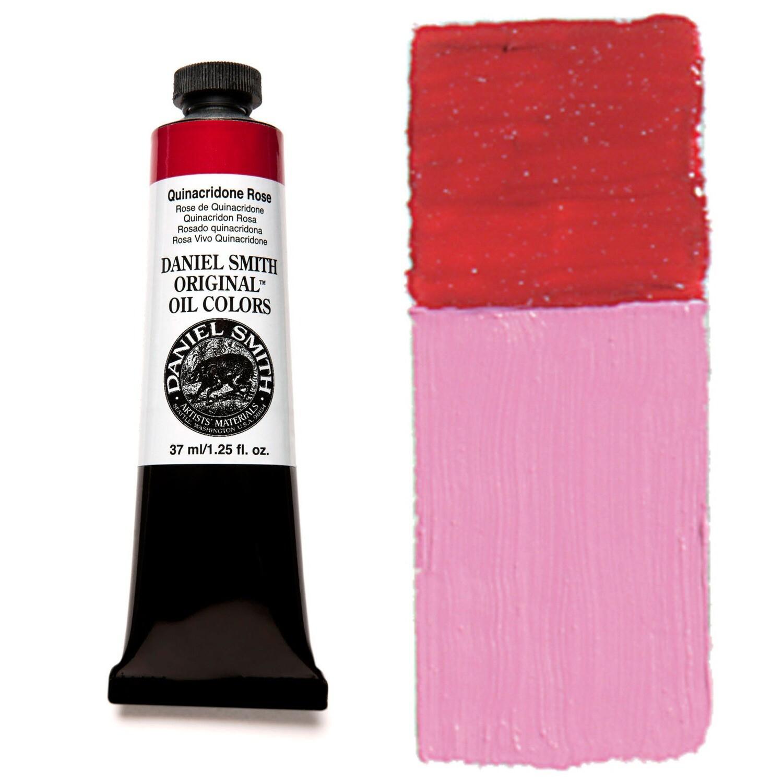 Paint Oil Quinacridone Rose, 37ml/1.25oz Daniel Smith Series 3