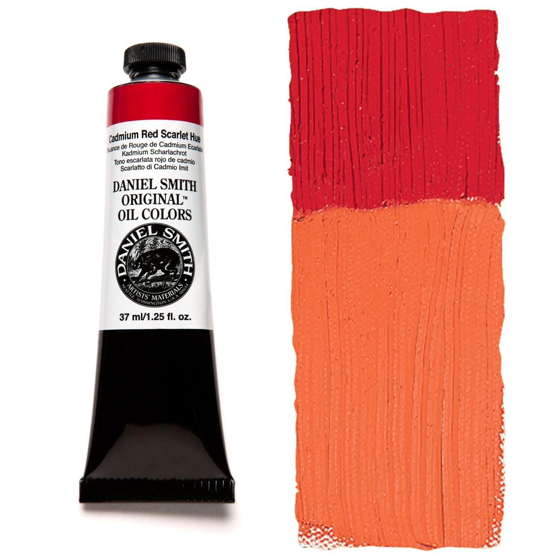 Paint Oil Cadmium Red Scarlet Hue, 37ml/1.25oz Daniel Smith Series 5