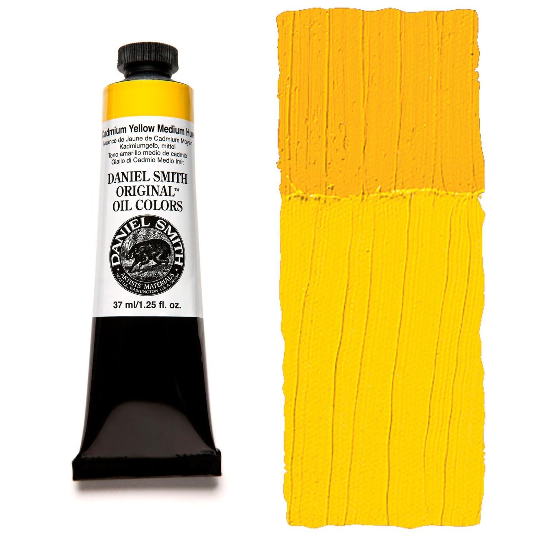 Paint Oil Cadmium Yellow Medium Hue, 37ml/1.25oz Daniel Smith Series 5