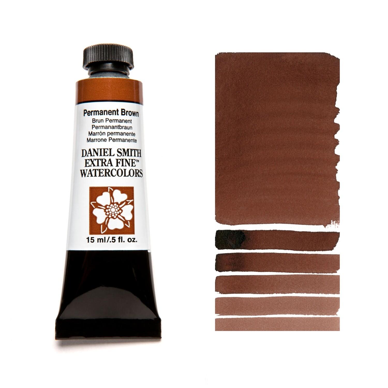 Paint Watercolour Permanent Brown, 15ml Daniel Smith Series 2