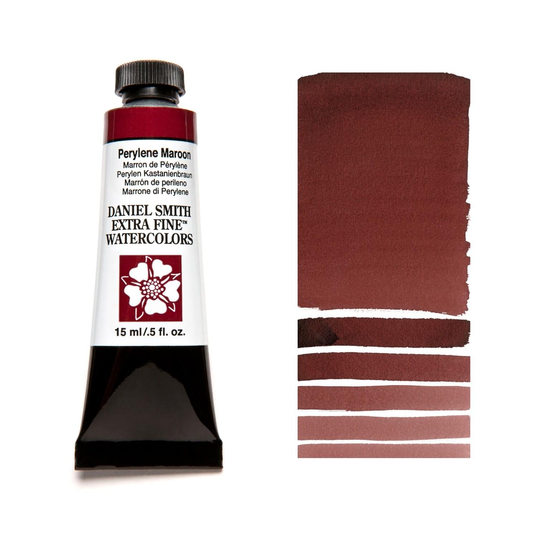 Paint Watercolour Perylene Maroon, 15ml Daniel Smith Series 3
