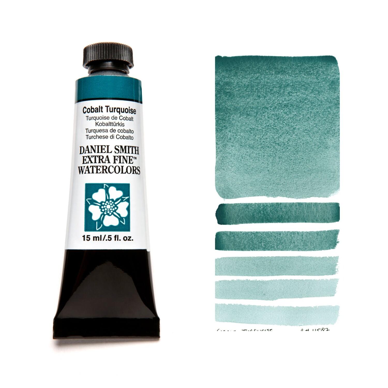 Paint Watercolour Cobalt Turquoise, 15ml Daniel Smith Series 3