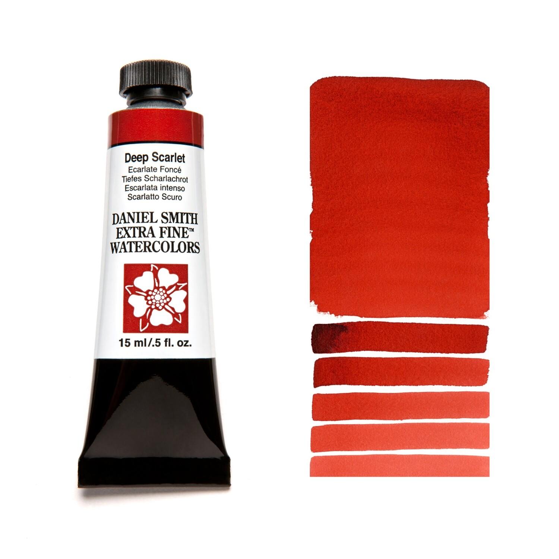 Paint Watercolour Deep Scarlet, 15ml Daniel Smith Series 1