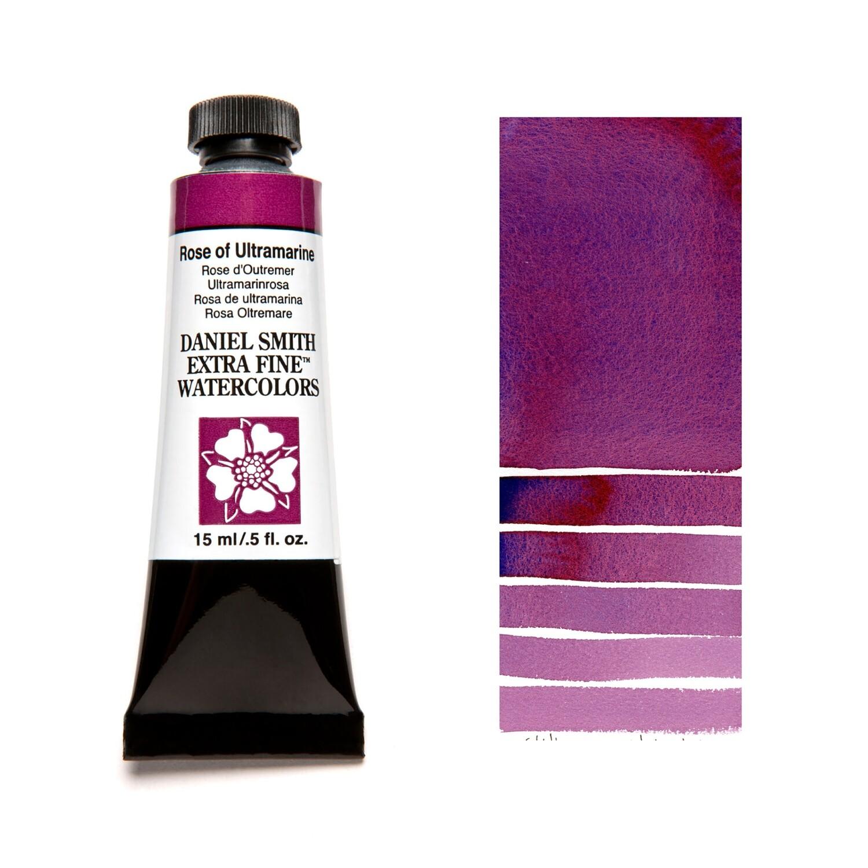 Paint Watercolour Rose Of Ultramarine, 15ml Daniel Smith Series 1