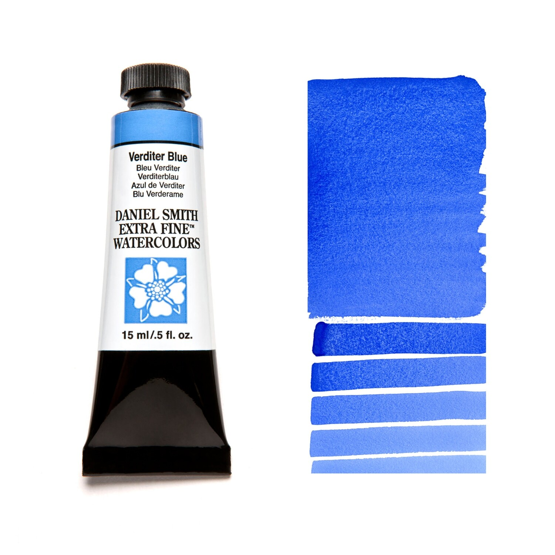 Paint Watercolour Verditer Blue, 15ml Daniel Smith Series 2