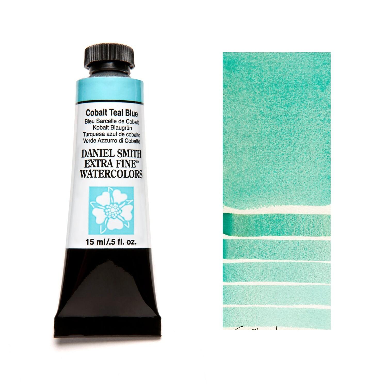Paint Watercolour Cobalt Teal Blue, 15ml Daniel Smith Series 2