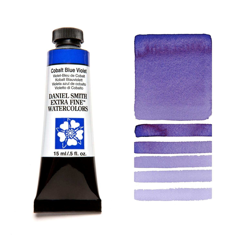 Paint Watercolour Cobalt Blue Violet, 15ml Daniel Smith Series 3