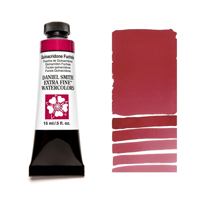 Paint Watercolour Quinacridone Fuchsia, 15ml Daniel Smith Series 2