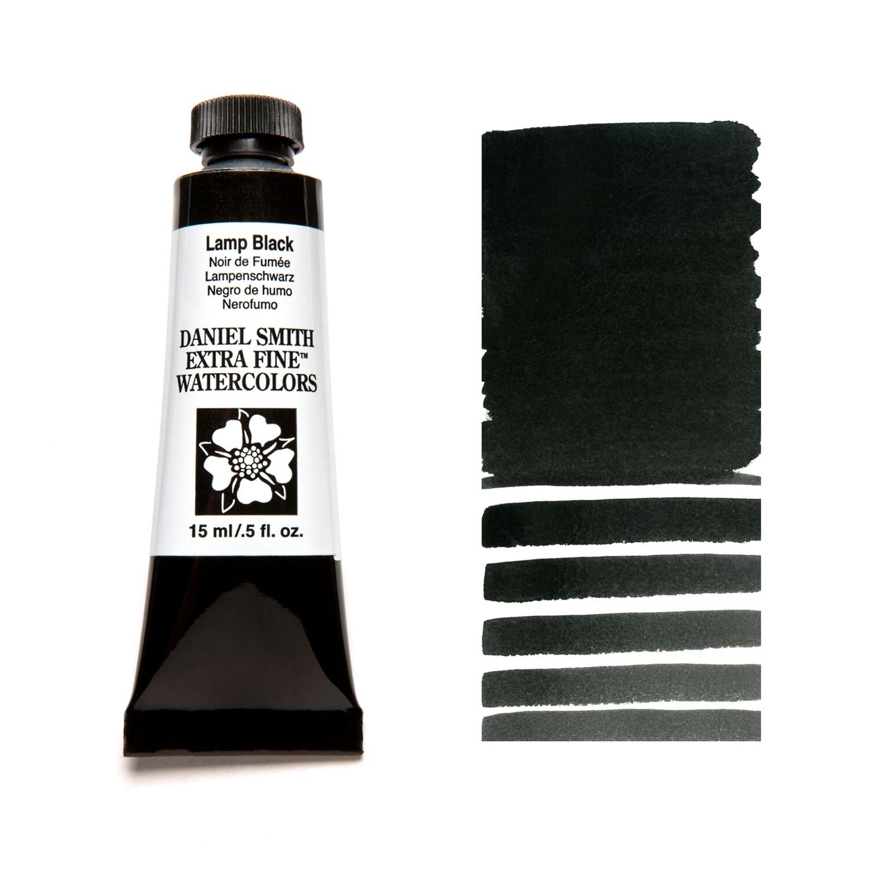 Paint Watercolour Lamp Black, 15ml Daniel Smith Series 1