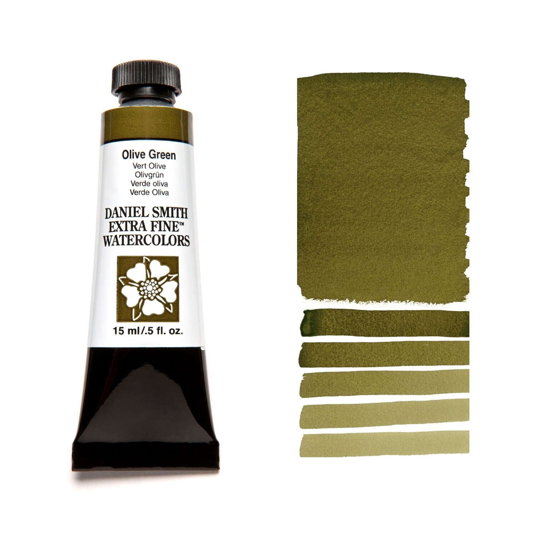 Paint Watercolour Olive Green, 15ml Daniel Smith Series 1