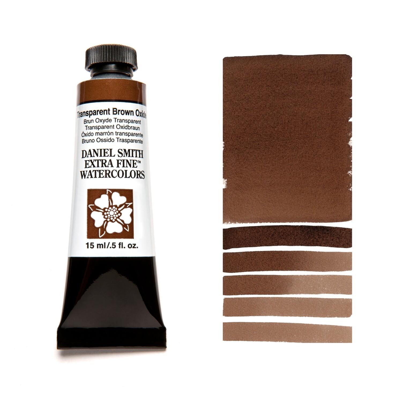 Paint Watercolour Transparent Brown Oxide, 15ml Daniel Smith Series 1