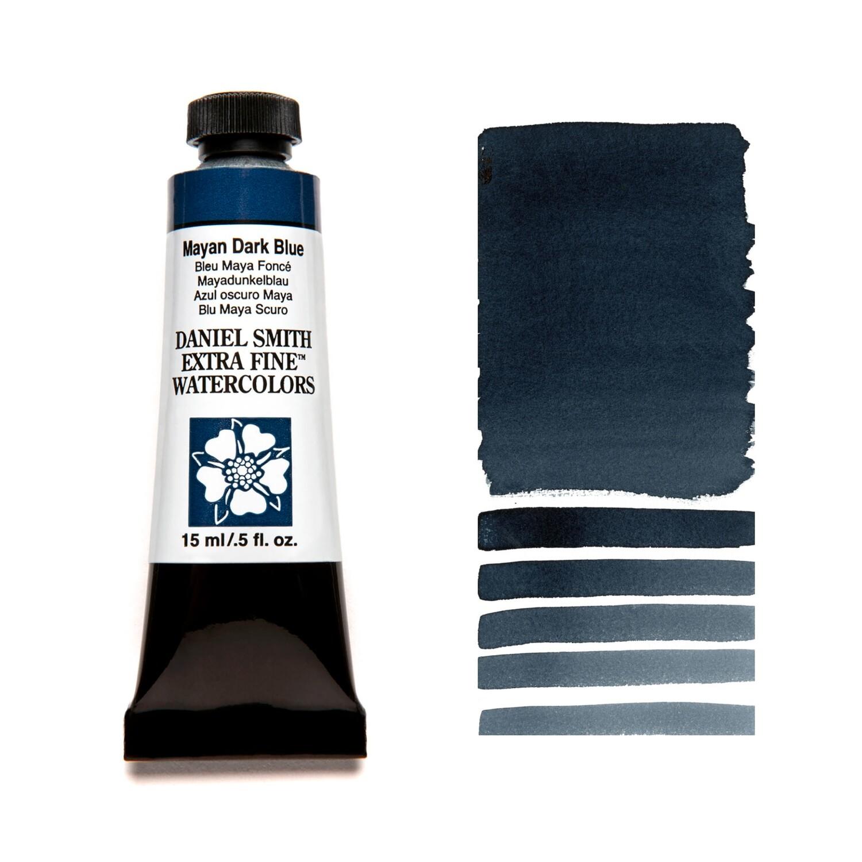 Paint Watercolour Mayan Dark Blue, 15ml Daniel Smith Series 3