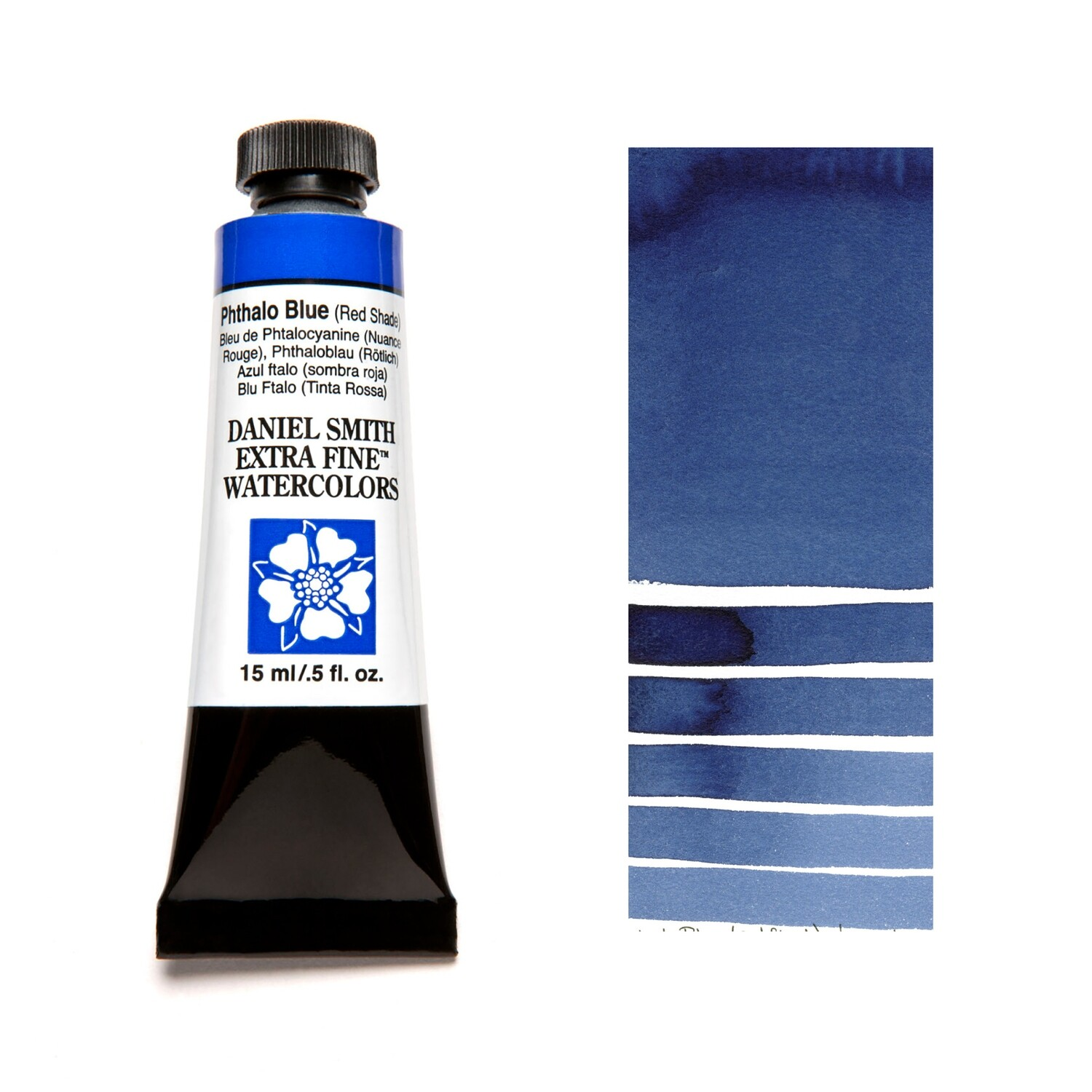 Paint Watercolour Phthalo Blue (Red Shade), 15ml Daniel Smith Series 1