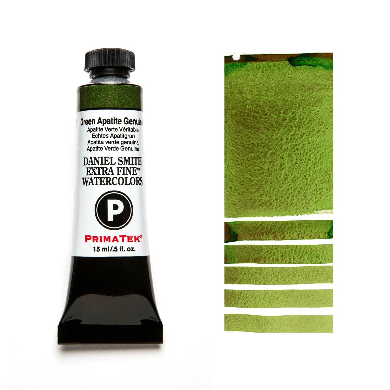 Paint Watercolour Primatek Green Apatite Genuine, 15ml Daniel Smith Series 3