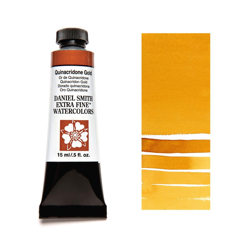 Paint Watercolour Quinacridone Gold, 15ml Daniel Smith Series 2