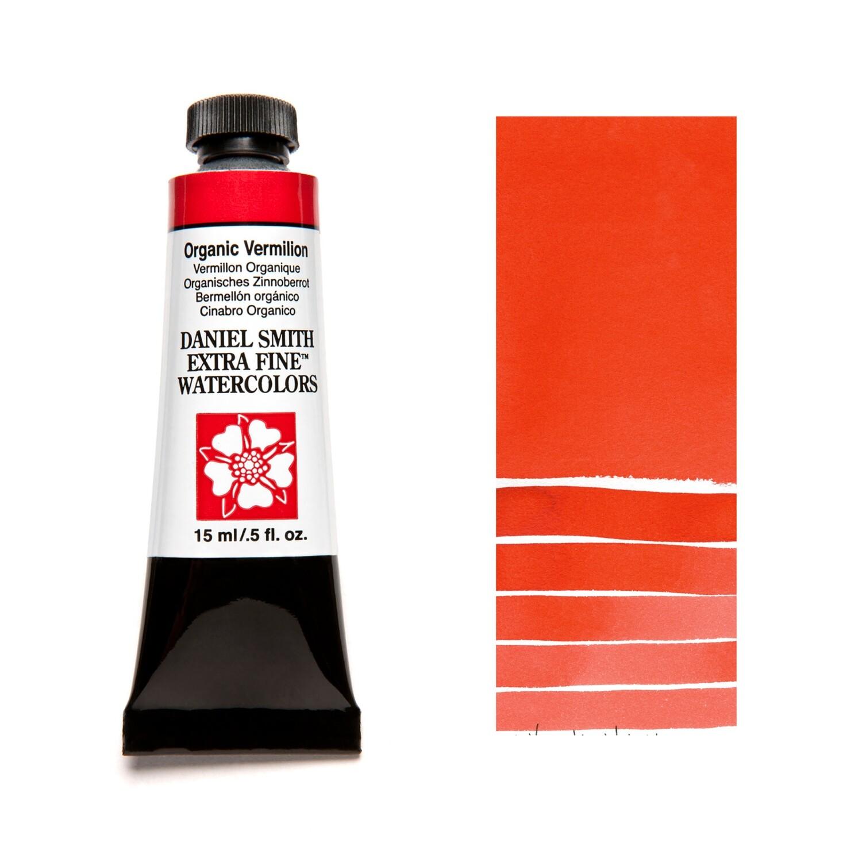 Paint Watercolour Organic Vermillion, 15ml Daniel Smith Series 2