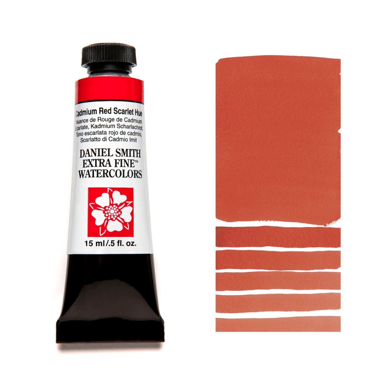 Paint Watercolour Cadmium Red Sclarlet Hue, 15ml Daniel Smith Series 3