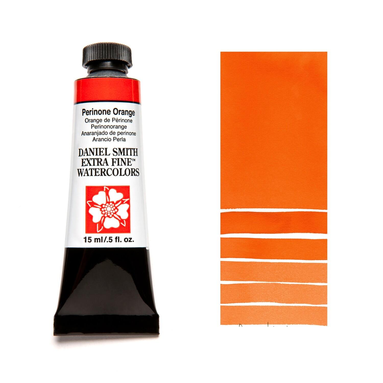 Paint Watercolour Perinone Orange, 15ml Daniel Smith Series 3