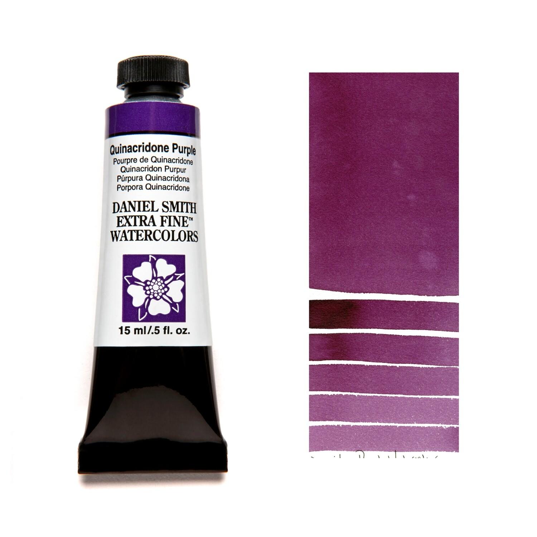 Paint Watercolour Quinacridone Purple, 15ml Daniel Smith Series 2
