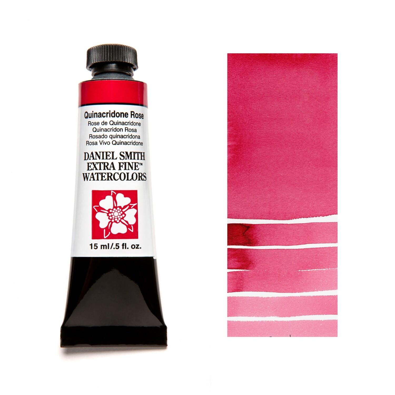 Paint Watercolour Quinacridone Rose, 15ml Daniel Smith Series 2