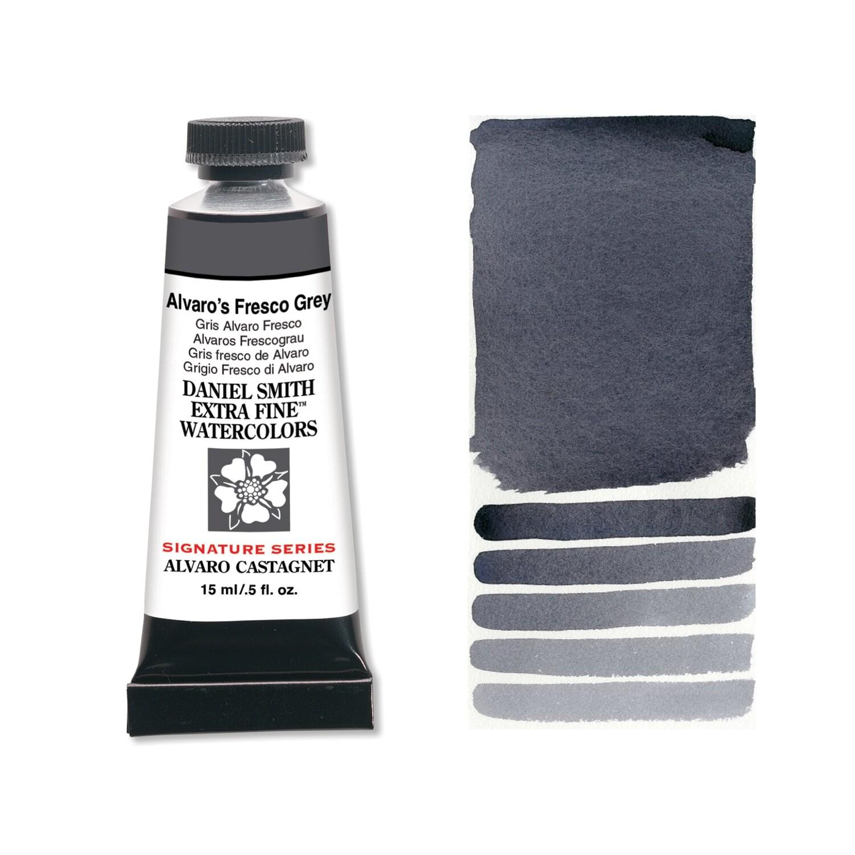 Paint Watercolour Alvaro's Fresco Grey, 15ml Daniel Smith Series 2