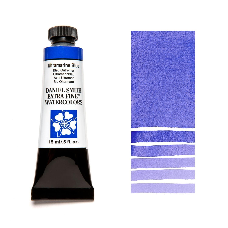 Paint Watercolour Ultramarine Blue, 15ml Daniel Smith Series 1