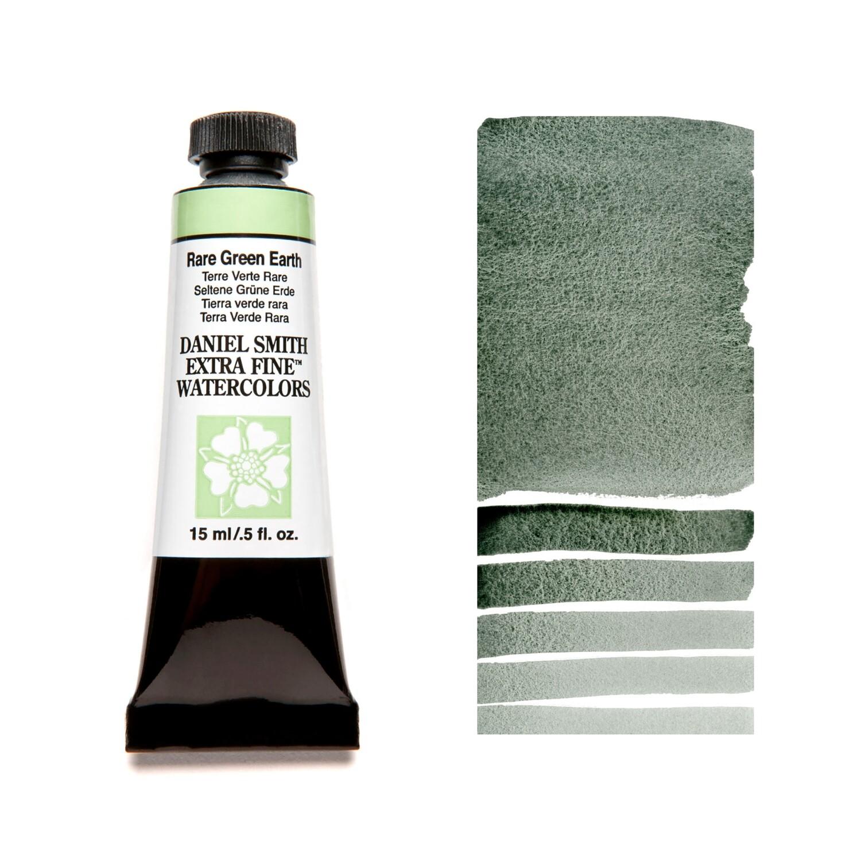 Paint Watercolour Rare green Earth, 15ml Daniel Smith Series 2