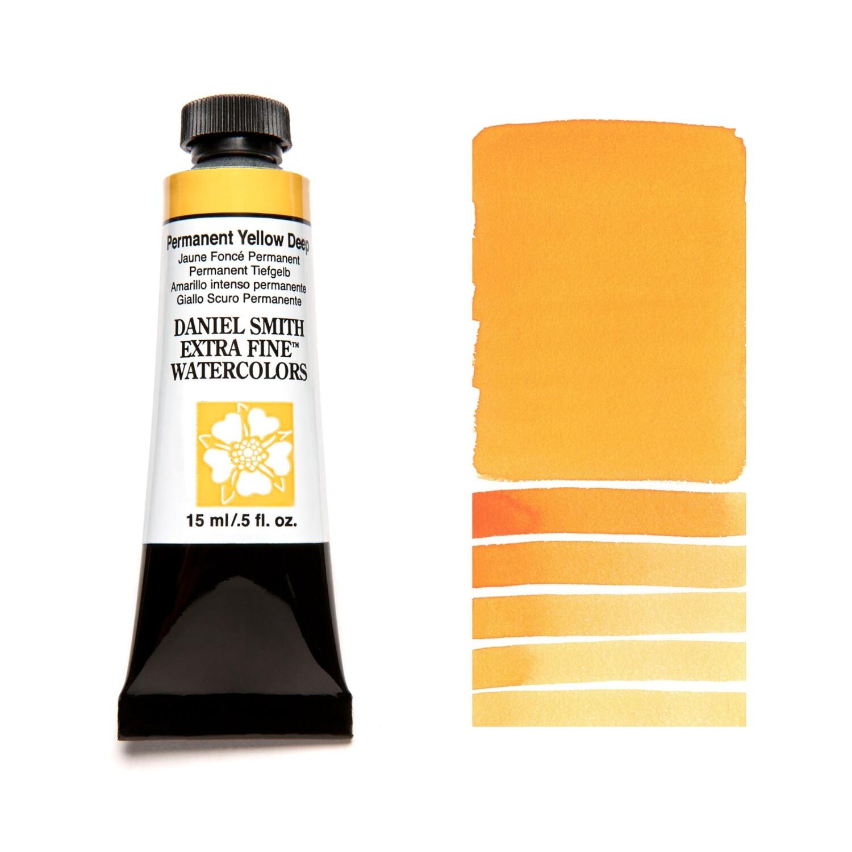 Paint Watercolour Permanent Yellow Deep, 15ml Daniel Smith Series 2