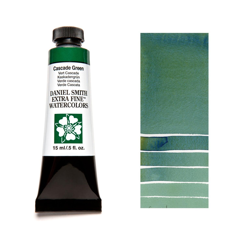Paint Watercolour Cascade Green, 15ml Daniel Smith Series 1