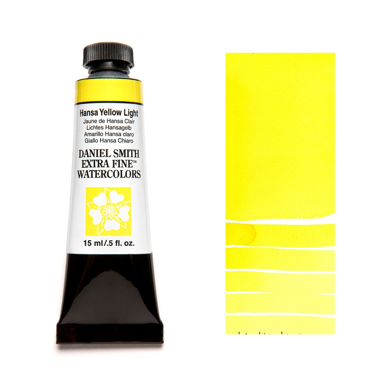 Paint Watercolour Hansa Yellow Light, 15ml Daniel Smith Series 1