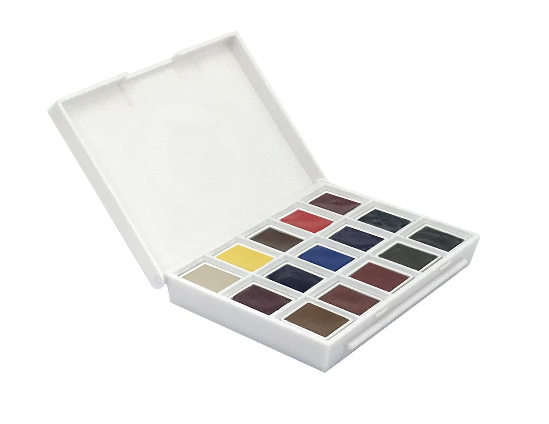 Paint Watercolour, Ultimate Mixing Half Pan Set, 15 Colours Daniel Smith